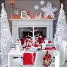 Yılbaşı gecesi masa dekorasyonu