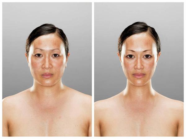 Büyüleyici photoshoplu portreler