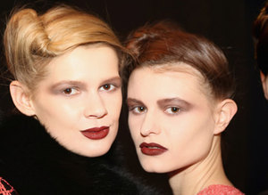 En iyi saç modelleri - NY Moda Haftas� Sonbahar / K�� 2015-16