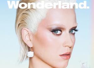 Katy Perry Wonderland dergisi için sar���n oldu