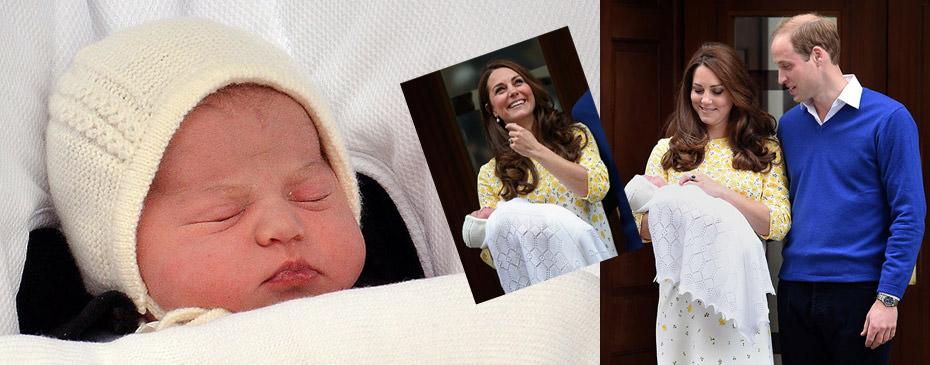 Kraliyetin ikinci bebe�inin ilk foto�raflar�