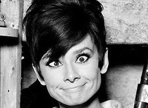 Audrey Hepburn'�n tuhaf foto�raflar�