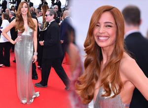 Azra Ak�n 2015 Cannes stili