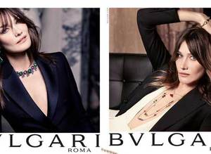 Carla Bruni ile Bulgari K�� 2015 Kampanyas�
