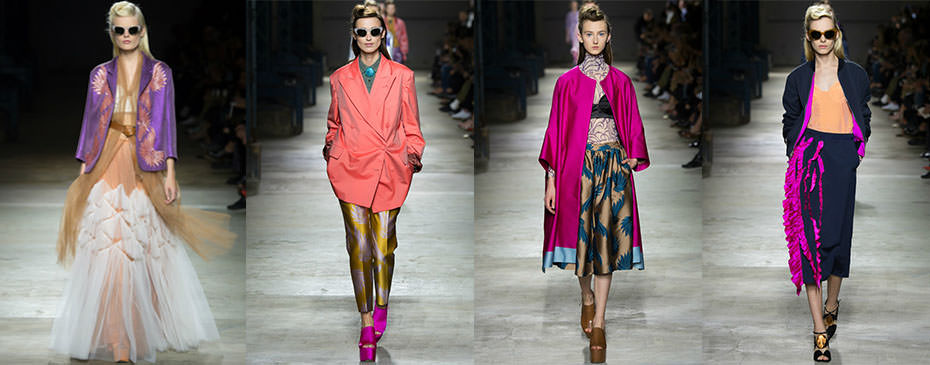 Dries Van Noten 2016 �lkbahar/Yaz, Paris