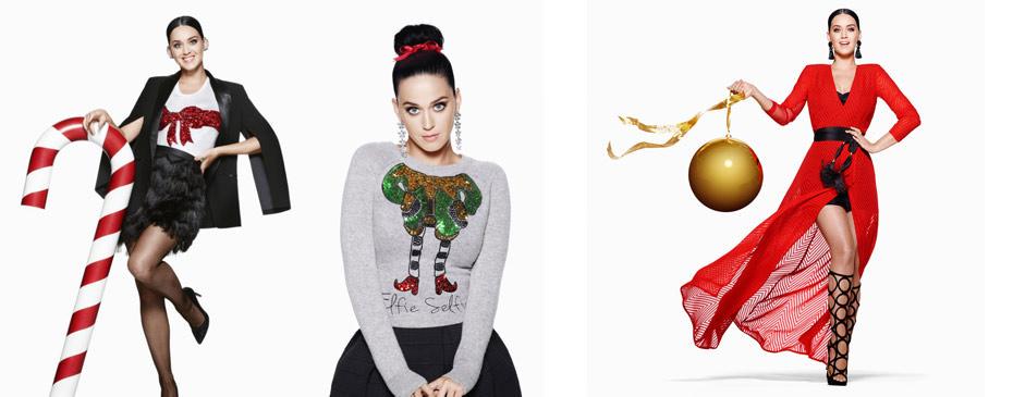 H&M'in y�lba�� kampanyas�n�n yüzü: Katy Perry