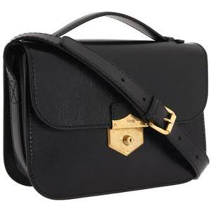 sales black leather satchels-alexander mcqueen wicca medium satchel.