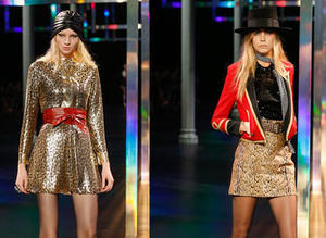 Saint Laurent �lkbahar-Yaz 2015, Paris