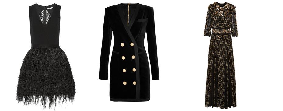 Göz Al�c� 20 Siyah Elbise Modeli