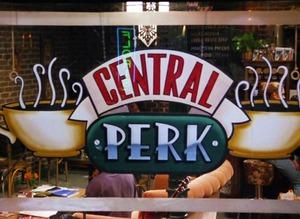 'Friends' dizisinin kafesine hayran ak�n�