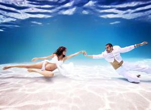 Deniz k�z� hamileler