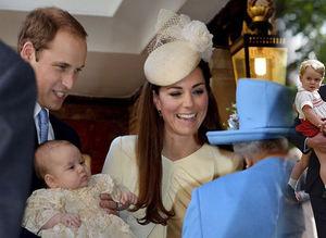 Prenses Charlotte vaftiz oldu