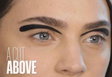 7 sıradışı eyeliner uygulaması