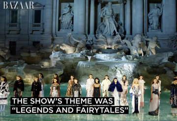 Fendi'nin nefes kesen şovu - Haute Couture, Sonbahar/Kış 2016, Roma