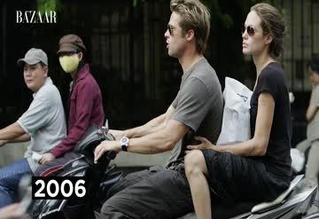 Angelina Jolie ve Brad Pitt'in unutulmaz anları
