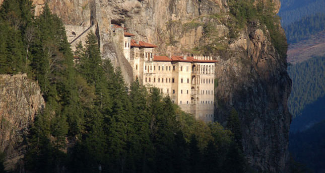 Sümela Monastery ready for Orthodox ritual