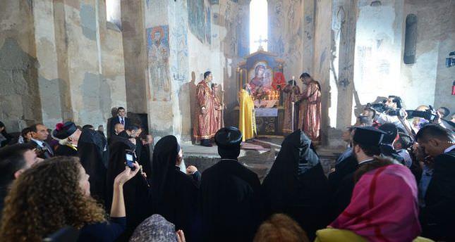 Annual mass unites Orthodox leaders