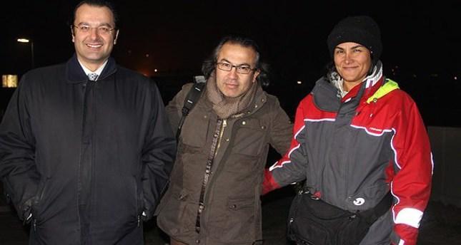 Turkish sailor safe after shipwreck in Atlantic