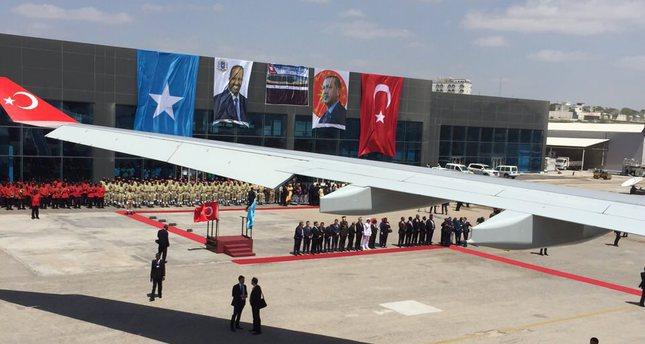 President Erdoğan in Somalia