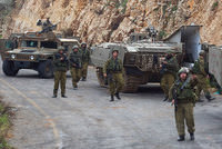 Two Israeli soldiers were killed in Wednesday's Hezbollah attack along the Lebanese frontier, the Israeli military said.  Announcement of the soldiers' deaths was delayed by Israeli authorities...