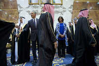 The US First Lady Michelle Obama's face was reportedly 'blurred out' by Saudi state television during her visit accompanying President Obama to offer condolences for King Abdullah and meet with the...