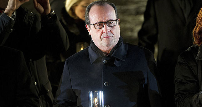 Hollande responds to Netanyahu's comments