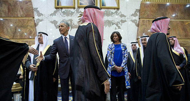 Michelle Obama 'blurred out' during Saudi visit