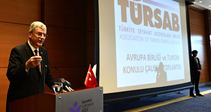 Turkish Minister of European Affairs Volkan Bozkır said on Friday that tourism has the potential to overcome
