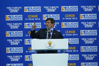 Prime Minister Ahmet Davutoğlu on Saturday has announced that the Office of the Prime Minister will open its third branch in İzmir, the city with the third largest population in Turkey. He made the...