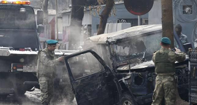 Suicide attack on Turkish embassy kills two in Kabul