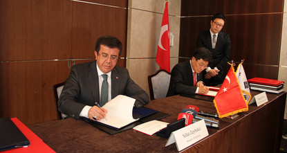 The scope of the free trade agreement (FTA) signed between Turkey and South Korea has been extended with a new agreement concerning the service sector and investments. Economy Minister Nihat...