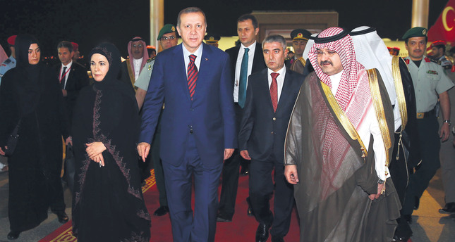 Erdoğan in Saudi Arabia to boost bilateral ties