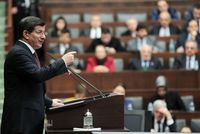 Prime Minister Ahmet Davutoğlu said that the government will not make any concessions if the use of arms is brought to the table, as he underlined that public order is an indispensable part of...