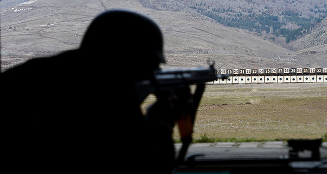 Turkish snipers trained to destroy in single shot