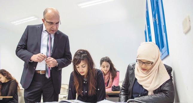 Tunisians learning to speak Turkish