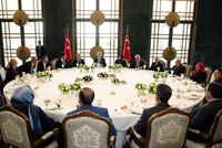 A team of five experts is checking President Erdoğan's food and water for radioactive materials, poison, and other deadly ingredients at the Presidential Palace in Ankara.