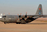 Two planes carrying Turkish military aid to Iraq have landed in Baghdad. According to an Anadolu Agency correspondent, two C-130-type military planes landed at Muthenna Air Base on Tuesday.