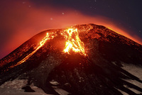 One of the South America's most active volcanoes has erupted in southern Chile, sending heavy smoke high into the air and lava surging down its slopes, and forcing thousands of people living nearby...