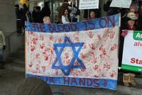Dozens of Jewish protesters in New York dismissed Israeli Prime Minister Benjamin Netanyahu's current U.S. visit as