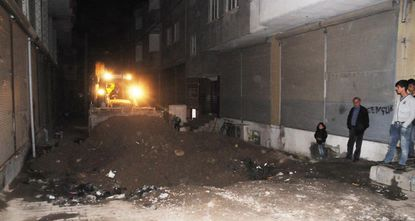 The ditches that were dug by members of the terrorist organization PKK's youth wing in Cizre, a district in eastern province of Şırnak, have been closed. The ditches were originally dug to prevent...
