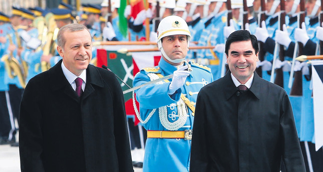 Energy, security top focus of Turkmen leader's visit