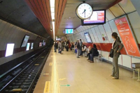 Services on Taksim-Yenikapı subway line, one of the busiest subway lines in Istanbul, have been put on hold due to a derailment.