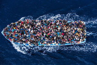 The number of migrants crossing the Mediterranean is putting a