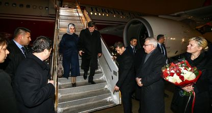 Turkish Prime Minister Ahmet Davutoğlu arrived in New York on Tuesday night to hold financial talks and attend a series of meetings at the United Nations.
