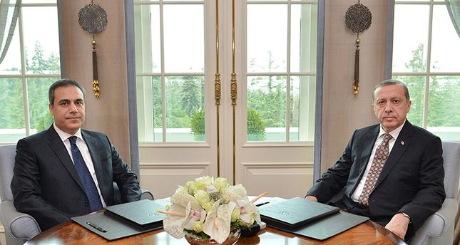 President resents MİT Chief Fidan 's resignation