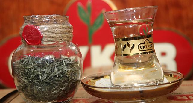 Drink white Turkish tea for only four thousand liras