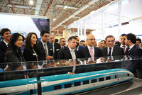 The Kars-Tbilisi-Baku railway line will be opened this year, announced the Minister of Transport, Maritime and Communication, Lütfi Elvan, while inaugurating the fifth International Rolling Stock,...