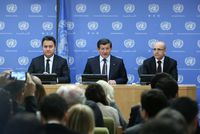 Prime Minister Ahmet Davutoğlu underscored that the U.N. Security Council (UNSC) lacks a solid strategy to address the crisis in Syria as the ongoing conflict remains to be an obstacle to the...