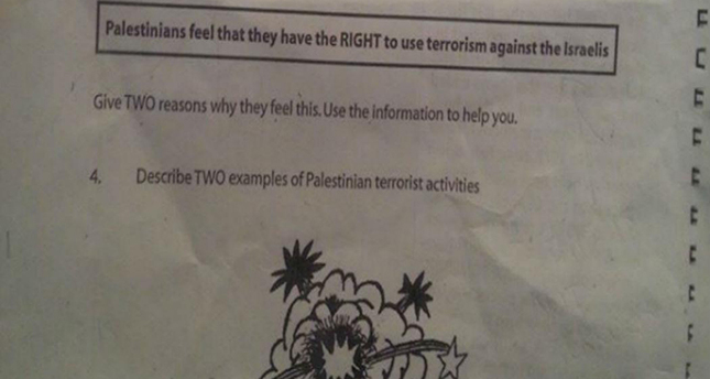 School apologizes after Palestinian 'terrorist' row