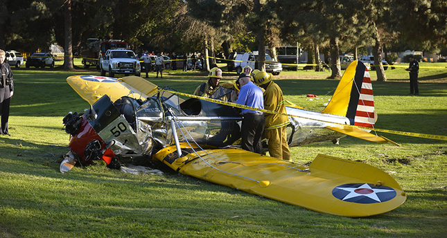 Harrison Ford seriously injured in plane crash